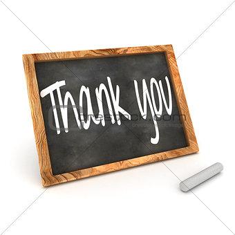 Blackboard Thank You