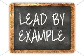 Blackboard Lead By Example