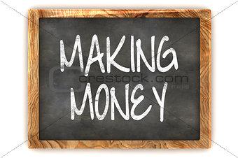 Blackboard Making Money