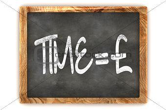 Blackboard Time=Money