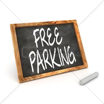 Blackboard Free Parking