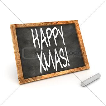 Blackboard Happy Xmas