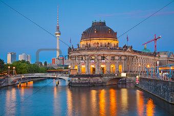 Museum Island in Berlin.