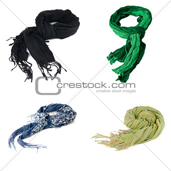 Set of scarves