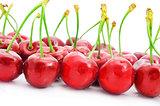 appetizing cherries