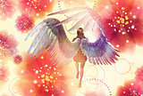 Floral angel