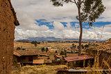 Chincheros town Cuzco Peru