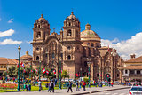 Society of Jesus church Plaza de Armas Cuzco Peru