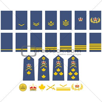 Canadian Air Force insignia