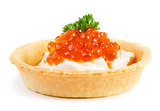 Caviar snack