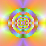 Psychedelic Target Rings