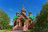 Achairsky monastery. Church of Dmitry Solunsky.