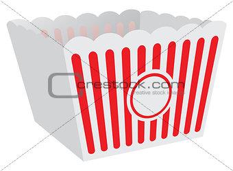 Cardboard box for popcorn