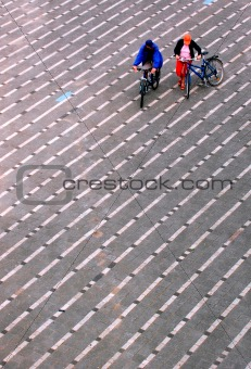 City cyclists