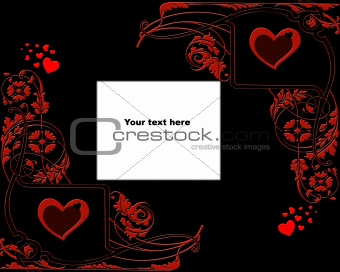 Valentine Grunge backgrund