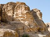 Petra in Jordan landscape