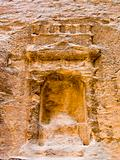 Nabatean place of god worship