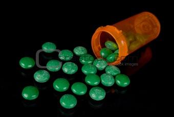 Candy and Prescription bottle