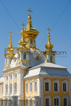 Fragment Of Great Peterhof Palace