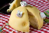 Delicious small cake