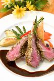 Crusted Lamb Chops