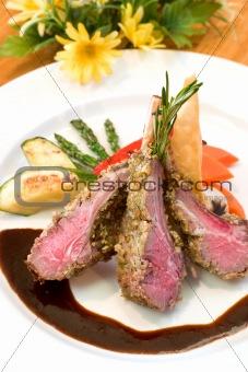 Crusted Lamb Chops
