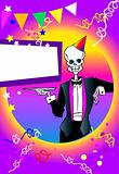 death series - party invitation