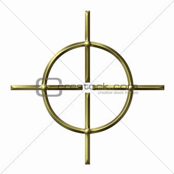 3D Golden Target