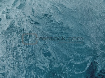 Frost Patterns on Glass 2