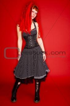 beautifull gothic girl