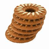 tower of biscuits