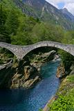 Bridge in Lavertezzo, Verzasca Valley