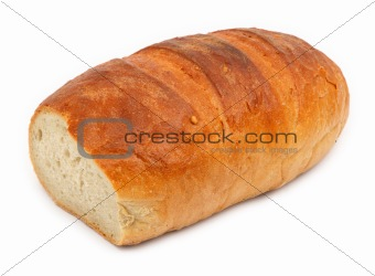 bread against white