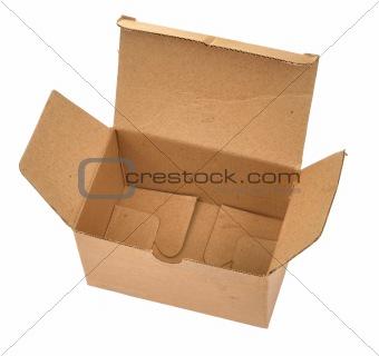 single open cardboard #2