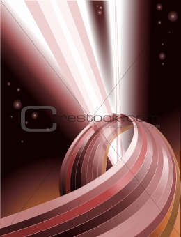 Abstract light beams background