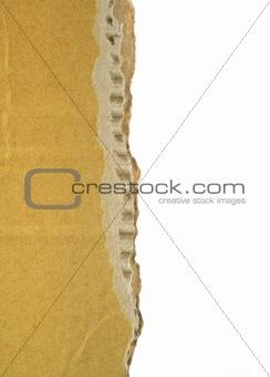 cardboard edge
