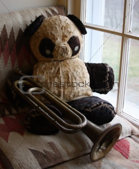 Antique Teddy Bear Blues