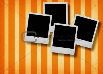 four photo frames