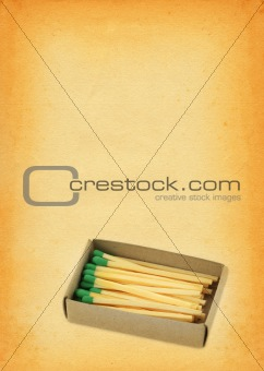 box full of matches