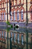 Reflecting brick houses