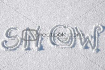 Aahh! The Snow that I love