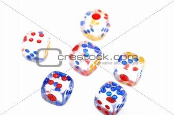 Six dices