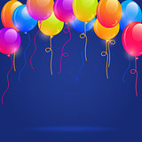 Brigth Colorful Balloons