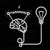 Invention - electricity of brain, light bulb and electric voltage