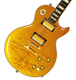 Maple Top Guitar