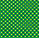 Brazil 2014 Seamless Green Yellow Blue Background