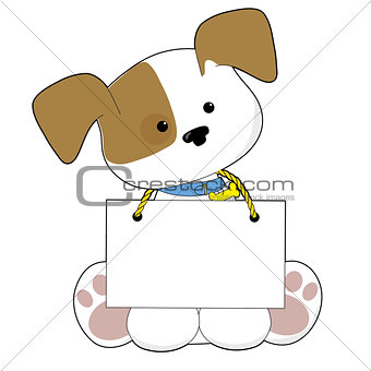 Cute Puppy Sign