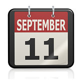 September 11, Patriot Day calendar