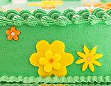 Green Field Cake