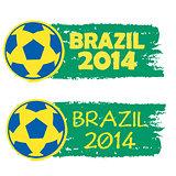 Brazil 2014 banner